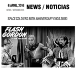 Flash Gordon 80th Anniversary Scale Model