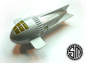 Dr. Zarkov's Rocket Ship Flash Gordon 1936 Scale Model 1-72 01